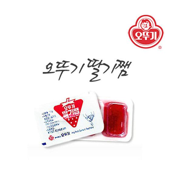 오뚜기 일회용 딸기쨈 디스펜팩 12gx480개