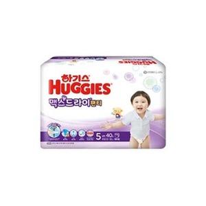 2020 하기스 맥스드라이팬티 5단계특대 40매x4팩/남아