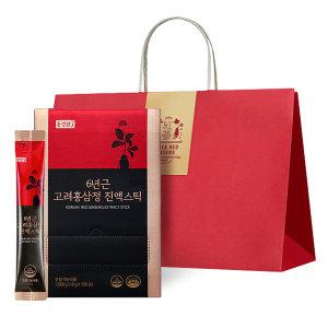홍정관장인 6년근 고려홍삼정진액스틱 100포(+쇼핑백)