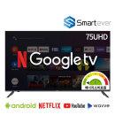 SA75G 75인치 UHD TV 구글 스마트 안드로이드OS