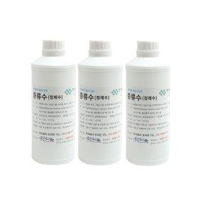 정제수1L 5개 3차 증류수 정제수 화장품 가습기물