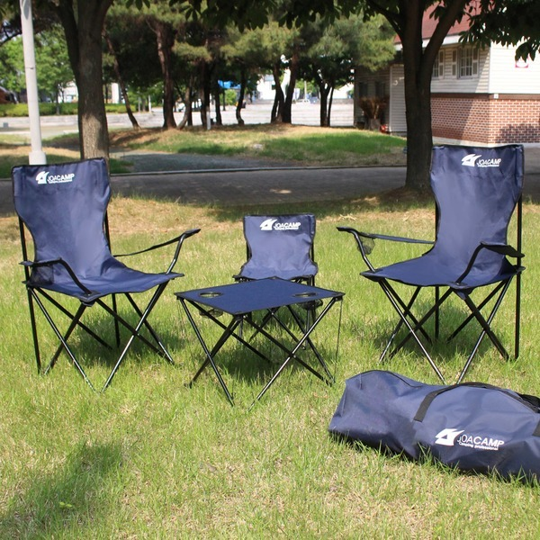 캠핑의자 캠핑테이블 세트 낚시 야외 간이의자