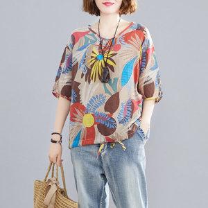 20%쿠폰할인 여름 빅사이즈 티셔츠 원피스 블라우스