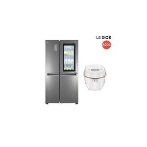 LG전자   E  820L  LG DIOS 노크온 매직스페이스 냉장고 (S831SN75)