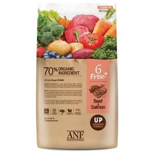 유기농 6Free 플러스 소고기 연어 6kg 강아지 사료