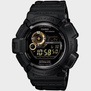 지샥 G-9300GB-1 남성 우레탄 손목시계/ 지샥(시계)