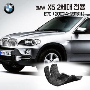 X5 코일매트 E70 2세대 자동차 매트 발판 발매트 깔판