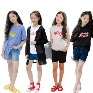 여름신상/여아/6세~14세/주니어/아동복/후드/맨투맨