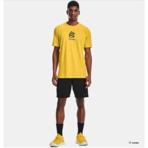남성 커리 UNDRTD 스플래시 티셔츠 1362819-790_JJ1