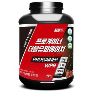 프로게이너 WPH 2kg_초코 근육발달 단백질 보충제