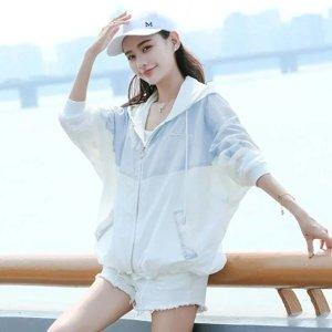 여름 여성 자외선차단 루즈핏 바람막이 점퍼 아노락