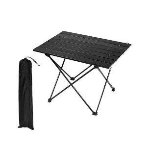 블랙 경량 롤 테이블 스몰 + 전용가방 포함 /캠핑
