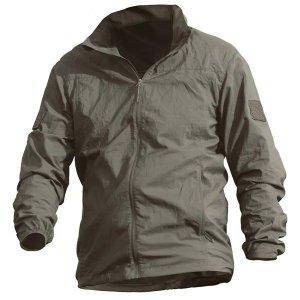 밀리터리 경량 등산 바람막이 텍티컬 방수 캠핑 자켓