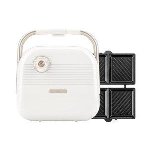 소형 전기 와플기 샌드위치 메이커 HY-6602화이트