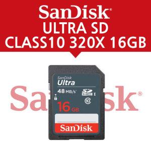 샌디스크 ULTRA SD CLASS10 320X 16GB