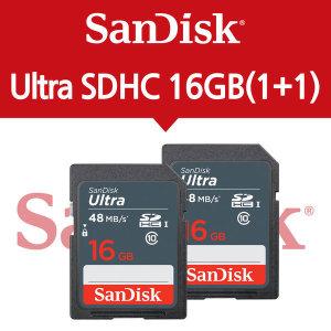 샌디스크 ULTRA SD CLASS10 320X 16GB 1+1