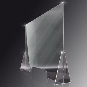 투명 가림막 칸막이 플라스틱 아크릴 판 4미리600X500