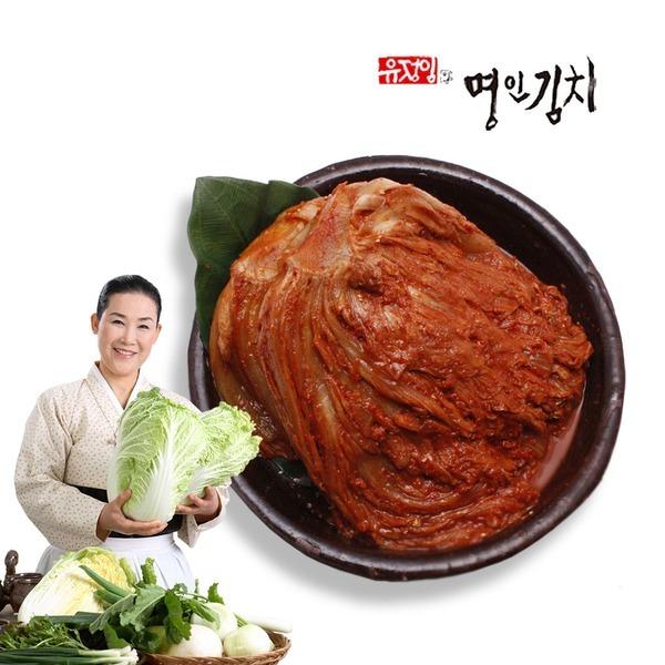식품명인 유정임 전라도묵은지 숙성김치10kg