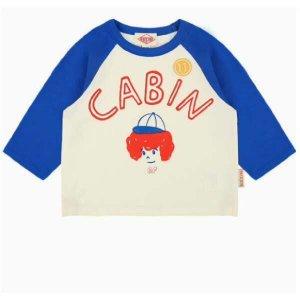 (현대백화점)베베드피노 캐빈 라글란 티셔츠 BP0222310