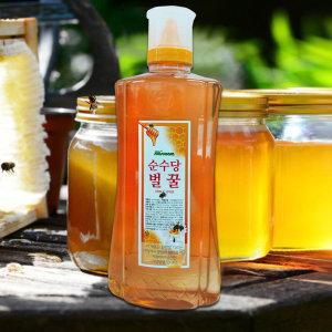 순수당 국산벌꿀 대용량튜브2kg/아카시아/사양꿀