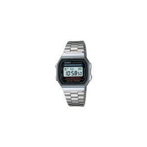 CASIO 남자 여자 커플 손목시계 메탈밴드 전자시계 패션시계 A168WA-1