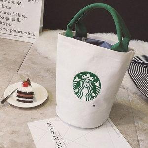 스타벅스 에코백 숄더백 텀블러 여성가방 캔버스백