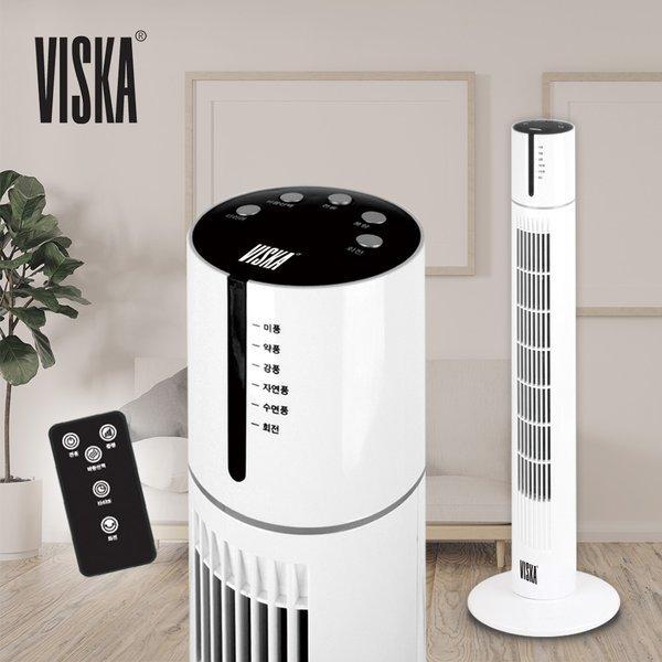 (비스카) 비스카 타워팬 리모컨형 선풍기 SN-ER80TF