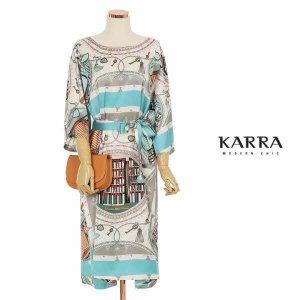 (현대Hmall) 하프클럽/카라 KARRA (77까지)라운드나염실키원피스벨트SETKB1MOP038G