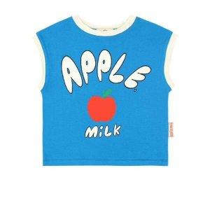 (현대백화점)베베드피노 애플밀크 베이비 루즈핏 티셔츠 BP0232115