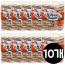 엉클팝 길쭉이 400g x10개 보리과자/간식/밀펑/쌀강정