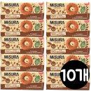 미주라 초코칩통밀도너츠230g x10개 커피과자던킨도넛