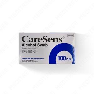 케어센스 일회용 알콜스왑 알콜솜 100매