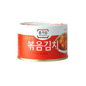 고소한맛 종가집 볶음김치160g(캔) 6캔 - 상품 이미지