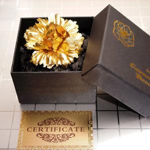 카네이션 브로치 금장미 볼펜 어버이날 스승의날 선물