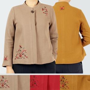2820봄가을-여자버튼 차이나저고리 생활한복 개량힌복