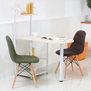 원목가죽젤리아의자/식탁의자/디자인의자/책상/의자