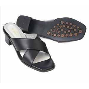 (현대백화점) 바이네르  발이편안한 여성컴포트 슬리퍼 8D25 블랙 화이트