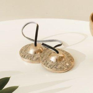 코린별 연꽃무늬 띵샤 네팔산 핸드메이드