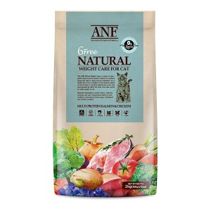 ANF 유기농 6free 고양이사료 웨이트 2kg 다이어트