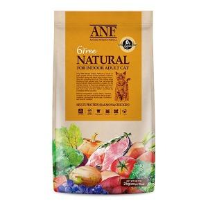 ANF 유기농 6free 고양이사료 어덜트 2kg 식스프리