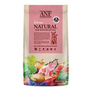 ANF 유기농 6free 고양이사료 키튼 6kg 식스프리