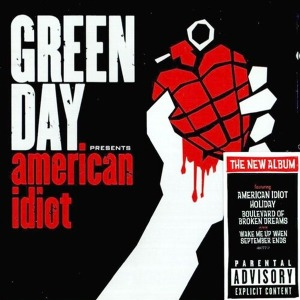 그린 데이 (Green Day)  - American Idiot (미개봉CD)