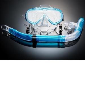 1+1 BN507 스노클링세트 수영 물놀이 강화유리
