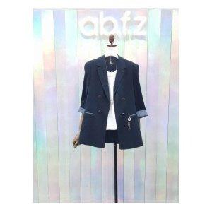 에이비에프지  패션 ab f z 린넨 슬림라인 재킷 BBAFT3J04_FI