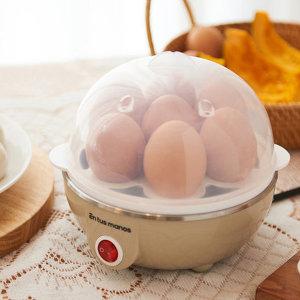7구 에그쿠커 전기 계란 만두 찜기 달걀 삶는 기계