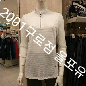 올포유 여성 어깨 레이스가 여성스러운 반집업 티셔츠 AWTHJ-6106 2001구로점