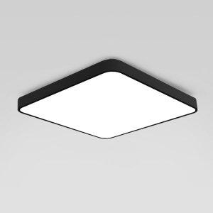 LED방등 거실등 조명 등기구 형광등 50W 블랙 삼성칩