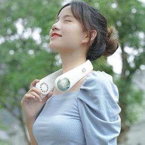 최신상 휴대용 넥밴드 B8 아이스밴드 목걸이 선풍기