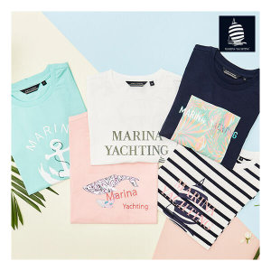 (런칭가 79 000원) 마리나요팅 에센셜 티셔츠 5종 세