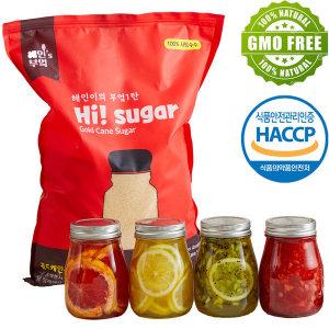 과일청 비정제설탕 사탕수수원당10kg NonGMO HACCP인증